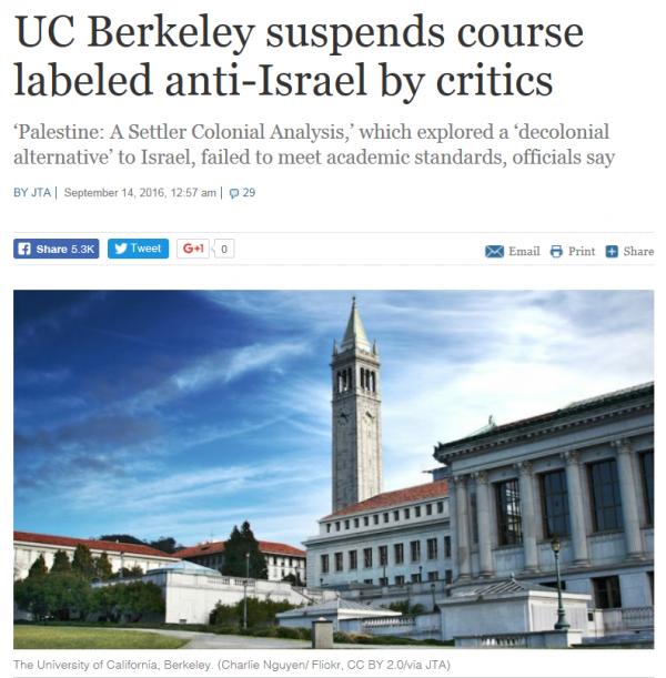 Berkeley cancels, TOI
