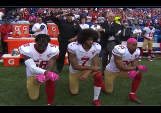a3c3c88a176dff Former NFL quarter Colin Kaepernick has filed a grievance against NFL  owners because he believes they colluded to keep him out of a job due to  his protests ...