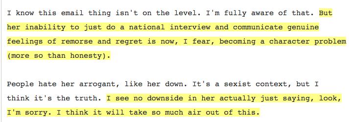 Neera Tanden Hillary Email