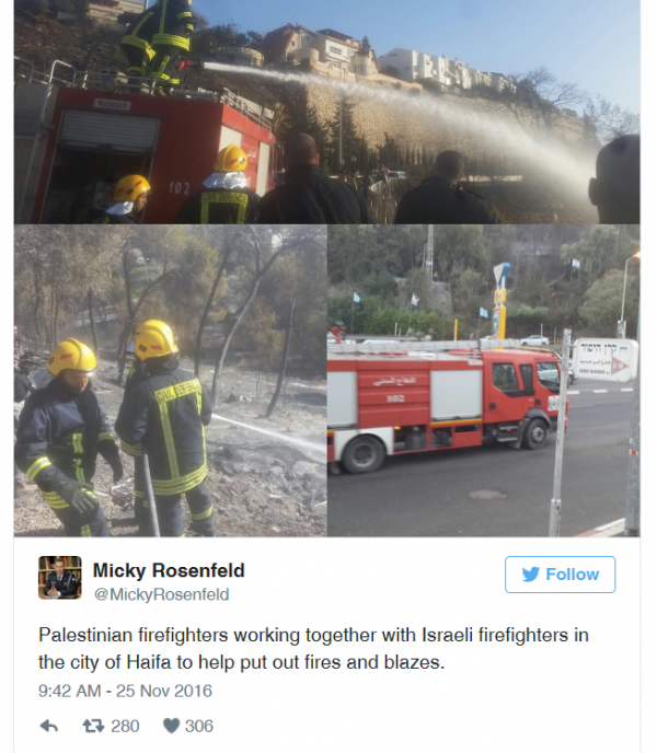 palestinian-firefighters-work-with-israelis