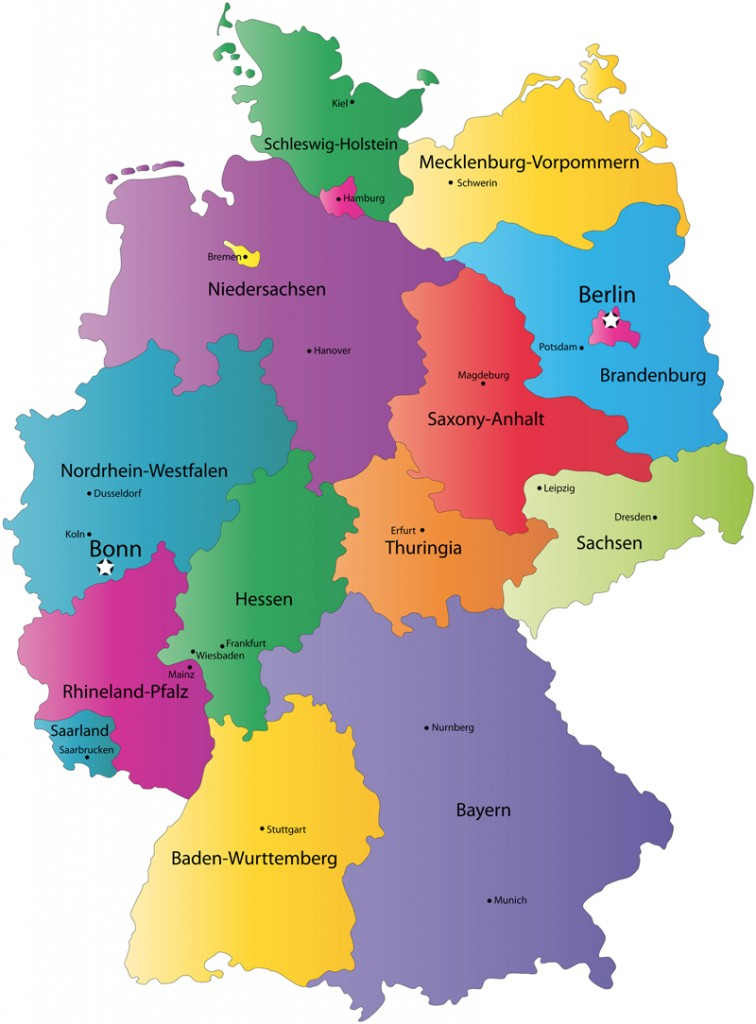 ]Map of Germany by Zeducorp]