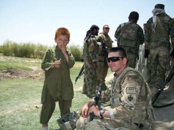 Christopher Horton Afghanistan w Boy
