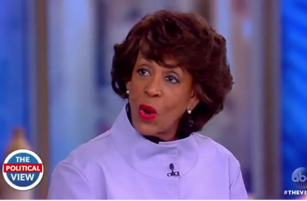 Maxine Waters: Trump Is A 'Hopeless And Ignorant Bigot'
