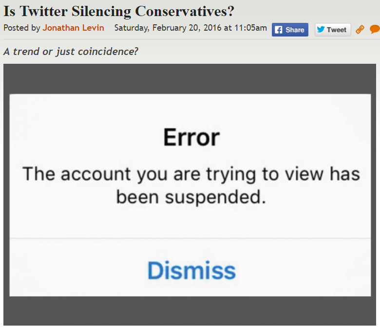 https://legalinsurrection.com/2016/02/is-twitter-silencing-conservatives/