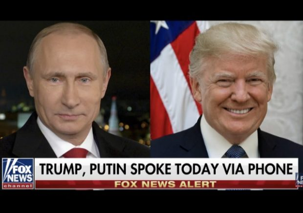 Putin Thanks Trump for CIA Helping Prevent Bombings in Russian Federation