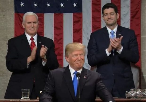 President Trump Delivers First State Of The Union Address: Highlights