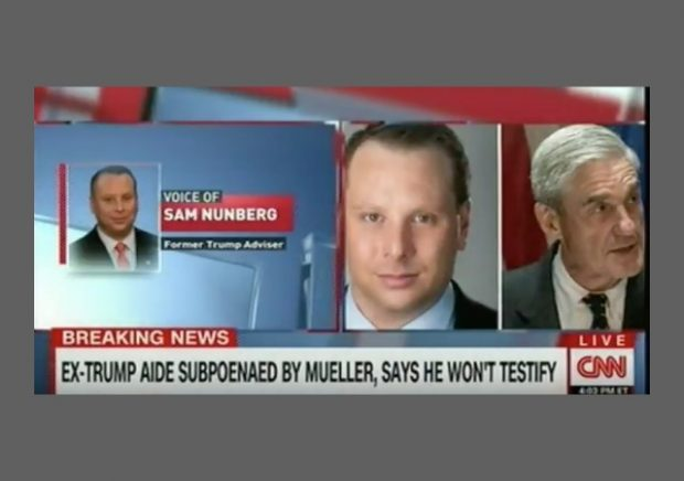 Former Trump adviser Sam Nunberg implies president 'may have done something wrong'
