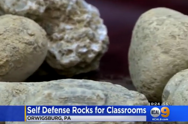 Rocks in the classroom gets national attention