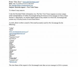 https://www.scribd.com/document/384764265/AP-NYT-s-Ashley-Kavanaugh-PIA-Request