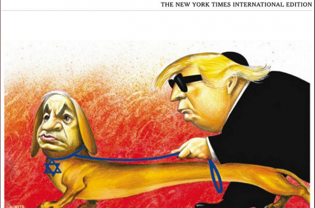 best website 85d58 a7709 Caricature antisémite du New York Times  chronique d une catastrophe  annoncée (Between normalization of deviance and creeping normality, how the  NYT ended ...