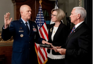 White House/Released Photo - https://americanmilitarynews.com/2020/01/space-forces-official-bible-blessing-attacked-by-military-church-separation-group-threatening-lawsuit/