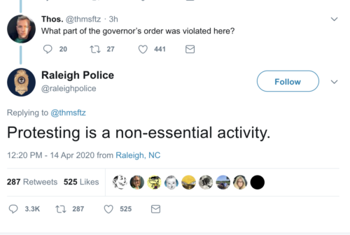 https://twitter.com/raleighpolice/status/1250111779574894594